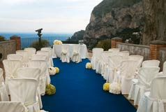 Wedding Capri island